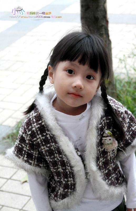 非常漂亮可爱的小女孩--西子小小