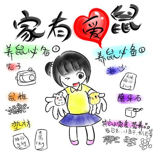 【爆可爱】小仓鼠漫画*^