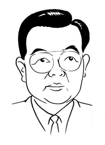 难得一见的中国领袖人物漫画【画得太棒了】真的是第