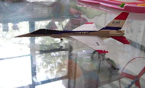 我的高仿真纸飞机