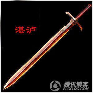 中国名剑排行榜 中国古代十大名剑 中国名剑排名鉴赏图
