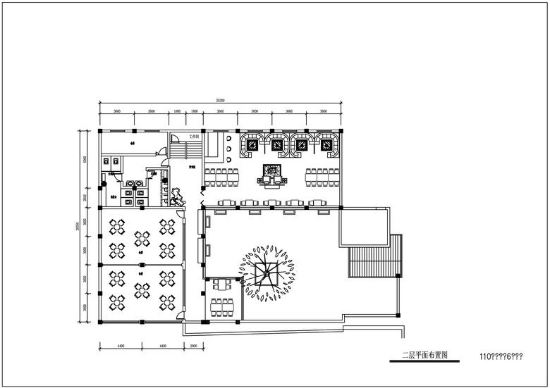六层农村自建房出租平面设计图